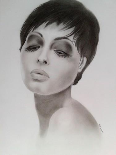 A titokzatos nő portréja - most AJÁNDÉK KÉPKERETTEL!