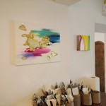 My paintings in the 'KILENCES' Cafe&Kultfood in Szombathely, Hungary!